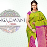 Langa Davani or Half Saree