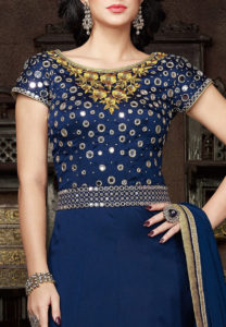 28a3cc0843 Bling it on with Mirror Work Kurtis & Tunics - Latest Trends