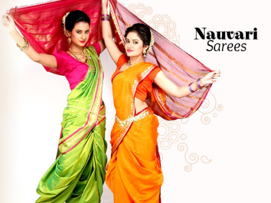 9-Yard Sarees from Different Regions of India