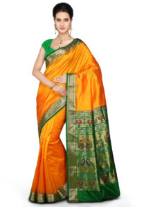 orange-paithani-silk-saree