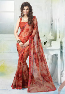 printed-border-saree