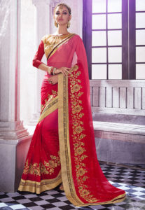 red-zari-work-saree