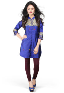royal-blue-pure-silk-tunic-dress