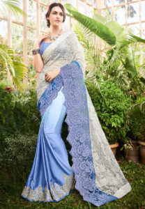 satin-net-half-half-saree