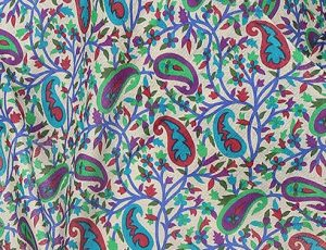Traditional Paisley Print on Pashmina Stole