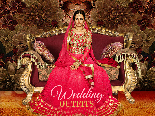 Indian Wedding Dresses - Ideas for Bride & Groom