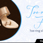 Distinctive Design of Toe Ring Footwear