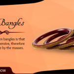Earthy and Pretty Wooden Bangles