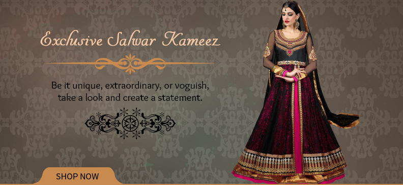 Designer & Exclusive Salwar Suits For Very Special Occasions