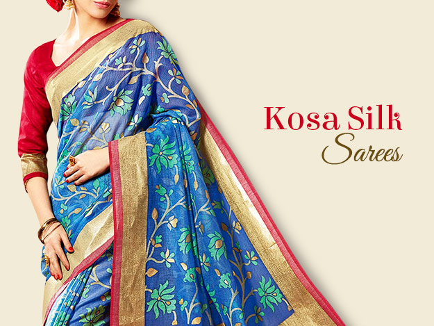 Kosa Silk Sarees For Just-So-Indian Drapes