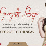 Beauty of Georgette Lehenga