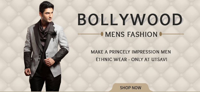 Traditional Men's Wear Inspired By Bollywood