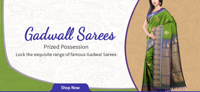 The Beauty of a Gadwal Saree