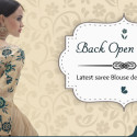 Back Open Blouses: Summertime Statement For Sarees