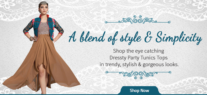 Glamorous and Dressy Party Tops