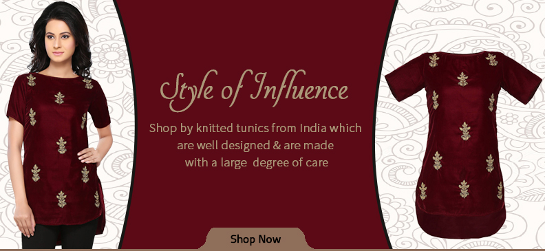 Trendy and Chic Ladies' Knitted Tunics