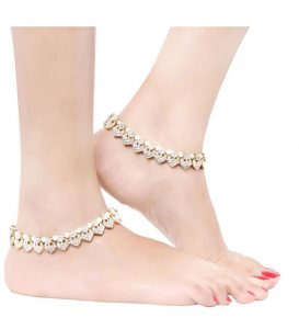 9bf74a62fcd Clinking Anklets Or Payal  Pearl