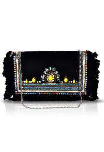 black-embellished-clutch