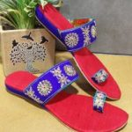 Indian Ethnic Footwear With Oodles Of Glitter