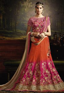 Lehenga Choli With Sequins