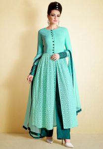 embroidered-net-flayred-style-suit-in-turquoise
