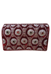 embroidered-red-clutch