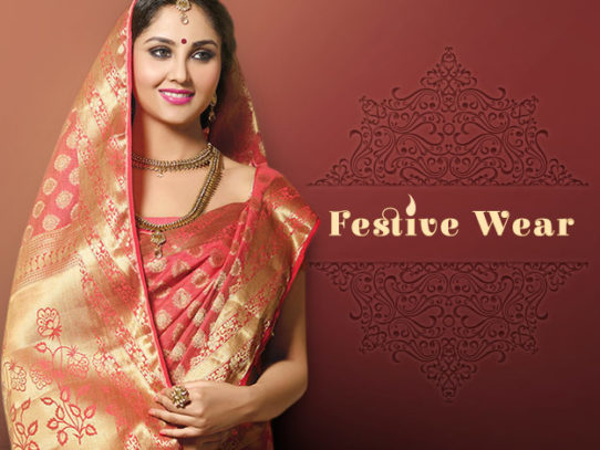 Wear Ethnic Outfits on Indian Festivals