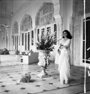 The Late Maharani Gayatri Devi in Circa 1943