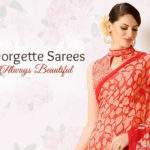 Feel Beautiful in Classic Georgette Sarees