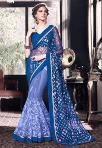 georgette-saree