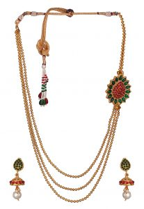 gold-beaded-necklace-set