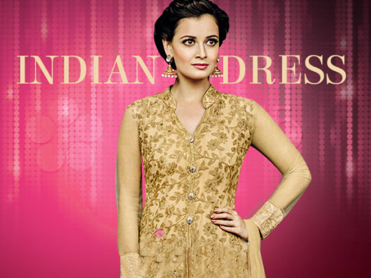 Indian Prom Dresses - Floral Printed Gowns, Embellished Sarees