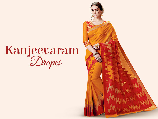 Kanjeevaram Sarees - The Pride of Indian Trousseau
