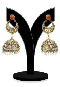 orange-studded-jhumka