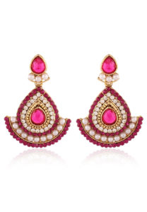 pink-earrings