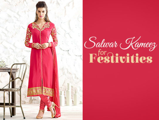 Salwar Kameez - Perfect Pick For Every Festivity