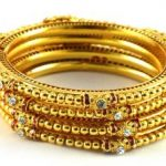 Stone Bangles For Loads Of Sparkle & Shimmer