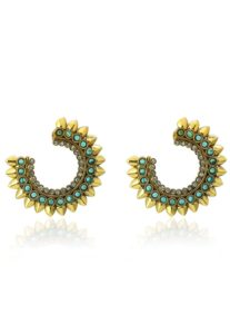 stone-studded-earrings