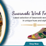 Glittering Swarovski Shoes