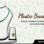 Attractive Plastic Bead Necklaces