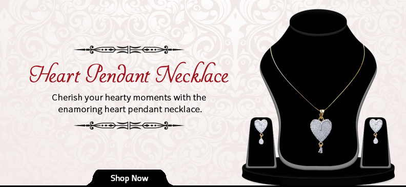 Elegance of the Heart Pendant Necklace