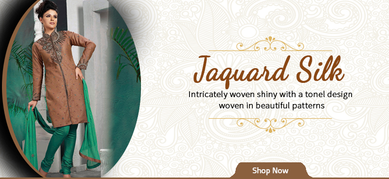 Get the Royal Look with Jacquard Fabrics