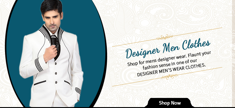 Dashing Designer Men's Clothes