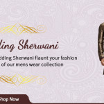 Regal Men's Wedding Sherwani