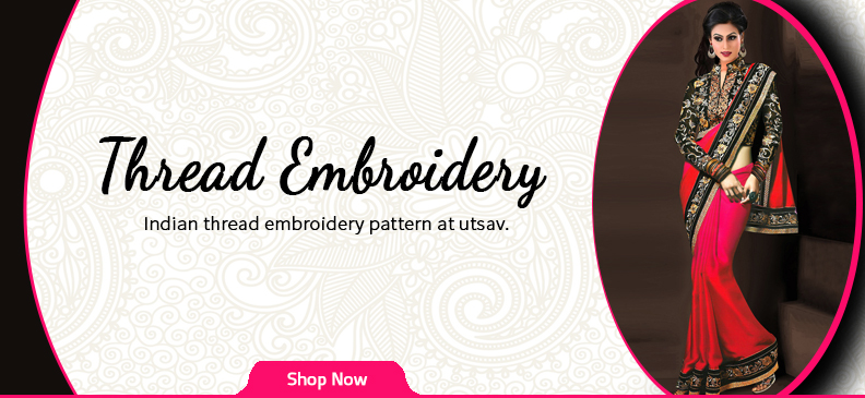 Stunning Thread Embroidery That Gives You Perfect Traditional Attire