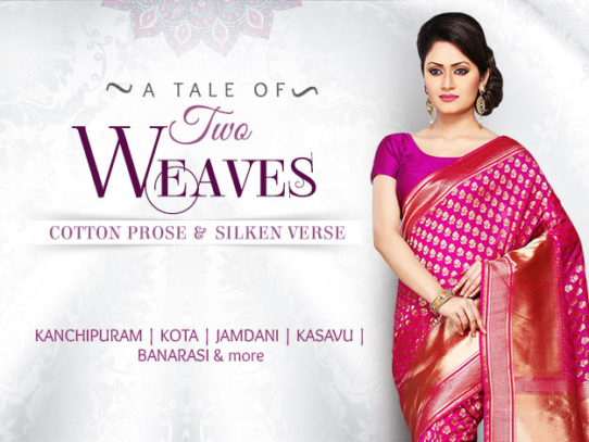 A Tale of Two Weaves 2016 - Cotton and Silk