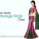 DIY Video to Learn Lehenga Style Saree