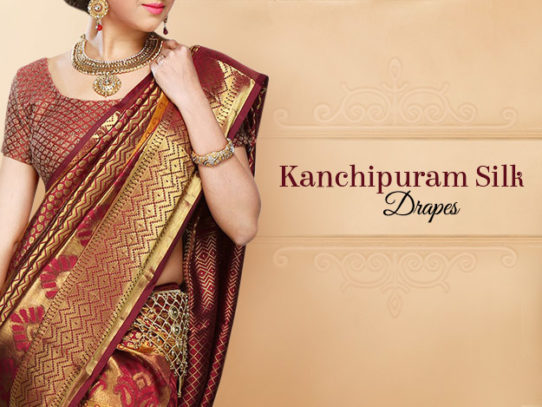 Kanchipuram Sarees - A Finery from South India