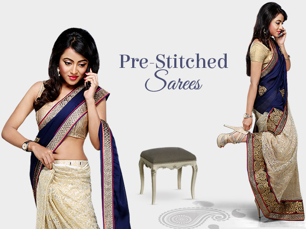 Wear Pre-stitched Sarees With The Ease Of A Skirt