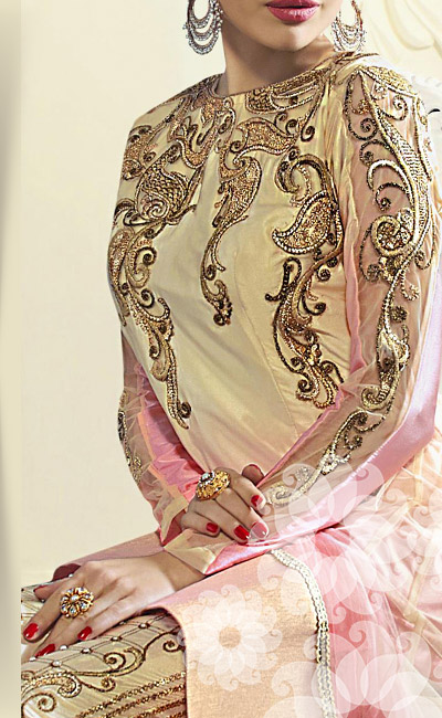 SS16 Trend of Net Collection of Embroidered Sarees, Anarkalis & Lehengas.Grab!